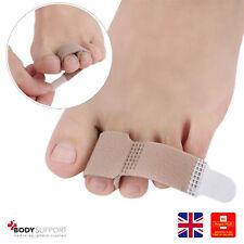 Toe Strap Soft Fabric Separator Bunion Corrector Straightener Pain Relief Wrap