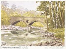 Postcard: Les Bott - The River Teifi, South Wales (Pilkington Family Trust)