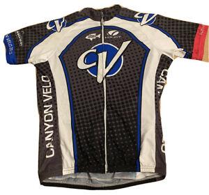 Canyon Velo Cycling Jersey Shirt Men's Volver NEW Made USA Anaheim Hills Cali