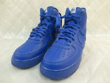 Nike Air Force 1 High ID Royal Blue 709454-991 Size 10.5 Mens Vietnam Auth