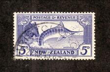 New Zealand--#210 Used--1936 Striped Marlin