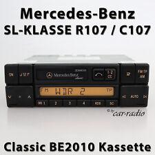 Mercedes Original Autoradio R107 SL-Klasse C107 Classic BE2010 Kassettenradio CC