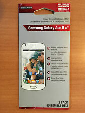 WRITERIGHT FITTED SCREEN PROTECTOR KIT FOR SAMSUNG GALAXY ACE II X