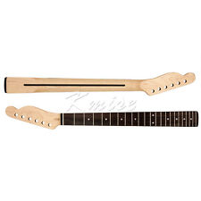 Electric Guitar Neck Replacement 22 Fret Maple Rosewood Fingerboard