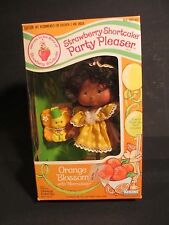 1983 Kenner Strawberry Shortcake Orange Blossom Party Pleaser Doll MIB