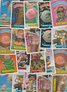 1985 TOPPS Garbage Pail Kids  50 Card LOT Vintage