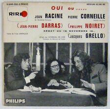 Darras Noiret Grello 45 tours Jean Racine Pierre Corneille