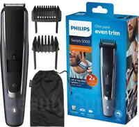 Philips BT5502 Cord/Cordless Stubble Beard Trimmer/Body Hair Groomer