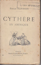 C1 USA Emile BARBIER Cythere en Amerique 1894 FEMINISME Femme Americaine