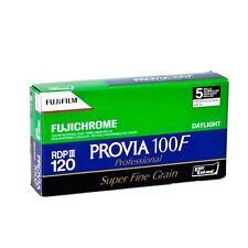 5x Fuji Provia 100F 120 Professional Dia Rollfilm RDP III Diafilm