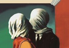 Tela Canvas Magritte cod 09 cm.70x100 Stampa Printing Digital Art papiarte