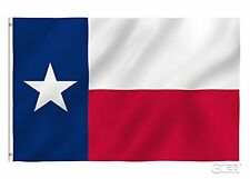 G128 - 2x3 ft Embroidered State of Texas 210D Nylon Flag Banner 2'x3' Grommets