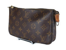 LOUIS VUITTON Monogram Canvas Pochette Accessoires Hand Bag LP3107