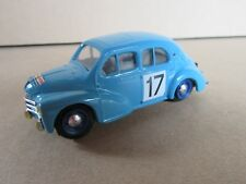 Eligor 1107 Renault 4cv 1063 tour auto 1954 # 17 Rédélé 1:43