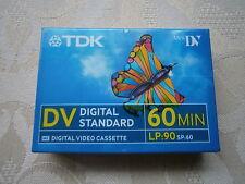 TDK DV60 Video Cassette Tape