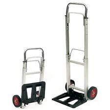 Folding Aluminium Trolley Heavy Duty 100kg Load Extendable & Lightweight