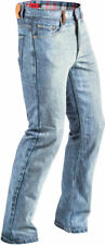 Highway 21 Men's DEFENDER Denim Motorcycle Jeans made w/Kevlar (Indigo Blue) 42