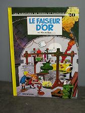 BD N° 20 Les Aventures de spirou et Fantasio LE FAISEUR D'OR