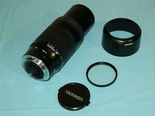 Tamron 90-300mm f4.5-5.6 Lens AF tele macro auto focus 62DM with Hood, Filter