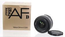 Nikon AF D Nikkor 24mm F/2,8 Weitwinkel Objektiv wie neu