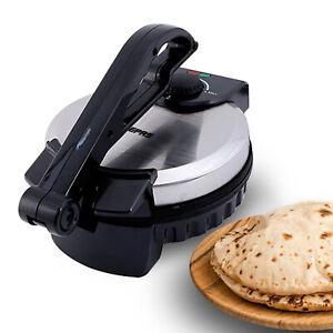 Geepas Electric Chapati Maker Flat Bread Naan Tortilla Fulka Roti Press Machine