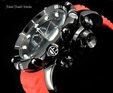 NEW Invicta 52MM Venom Sea Dragon Gen II Swiss Quartz BLACK Dial RED Strap Watch