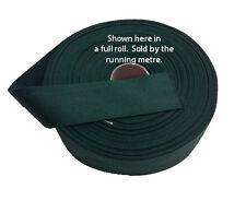 "Tapis Bord Fixation Garniture sangles en coton vert foncé 2 ""wide tapis tapis de sol &"
