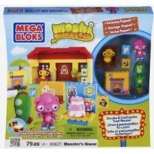 Mega Bloks Moshi Monsters #80627 Monster's House New 79pc Playset