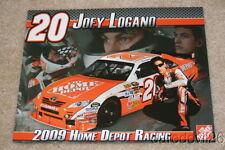 2009 Joey Logano Home Depot Toyota Camry NASCAR postcard