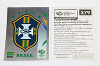 Panini WC WM Germany 2006 – seltenes BRASILIEN WAPPEN rare BRASIL BADGE 379
