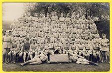 cpa CARTE PHOTO Soldats du 140e Cie AUTO du GMP Dét. SERURIER Militaires 1920