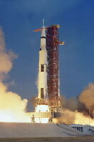 New 5x7 NASA Photo: Apollo 11 Mission Launch Sending First Men to the Moon