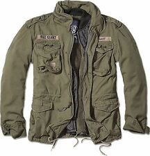 Brandit M65 Giant Military Parka Jacket US Army Combat Zip Fleece Warm Winter