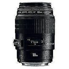 Canon EF 100mm F/2,8 Macro USM Objetivo - Negro