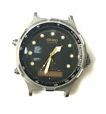 Seiko Quartz Sport Oiginal Post Arnie H601-802A Stainless Steel Back Watch Only