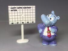 VARIANTE: Happy Hippo Boss (Schild ohne Bilanzkurve - Rarität !!!) 1994
