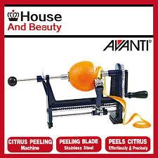NEW Avanti Kitchen Werks S/Steel Citrus Peeling Machine,Orange Peeler,RRP $49.95