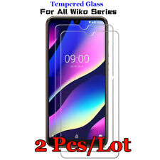 2x Tempered Glass Screen Protector For Wiko View Sunny Harry Lenny Jerry Y60 Y70