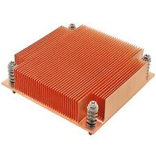 1U Server CPU Cooler Copper Heatsink For Intel 1150 1151 1155 1156 i3 i5 i7