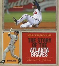 The Story of the Atlanta Braves (Baseball the Great American Game)-ExLibrary