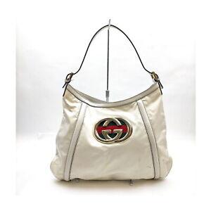 Gucci Shoulder Bag  Whites Enamel 2004182