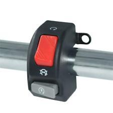 """New listing Motorcycle 7/8"""" Handlebar Headlight Fog Light Horn ON OFF Start Kill Switch 12V(Fits: 1986 CR125)"""