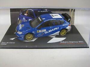 Altaya Pasion Rally Subaru Impreza WRC Solberg Tour de Corse 2008 IXO 1/43