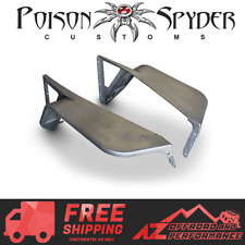 """Poison Spyder Defender Front 5"""" Tapered Flares Steel For 97-06 Jeep Wrangler TJ"""