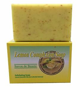 Lemon Complexion Soap, All natural, Even skin tone, Clean pores, Radiant Glow