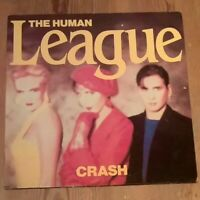 The Human League – Crash Vinyl LP Album 33rpm 1986 Virgin – V2391
