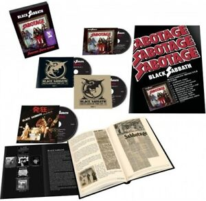 Black Sabbath - Sabotage (Super Deluxe Edition)(4CD) [New CD] Boxed Set, Deluxe