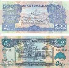 Somaliland [37] - 500 Shilin 2011 aUNC - Pick 6h