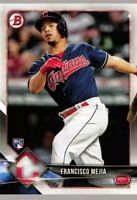 Francisco Mejia 2018 Bowman #2 RC Indians  Cleveland Rookie Card