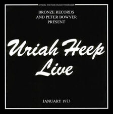 Uriah Heep - Live / The Byron Era ( AUDIO CD + DVD PAL ) USA SELLER!!!